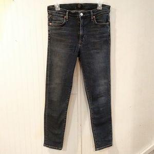 COH rocket crop high rise skinny jeans
